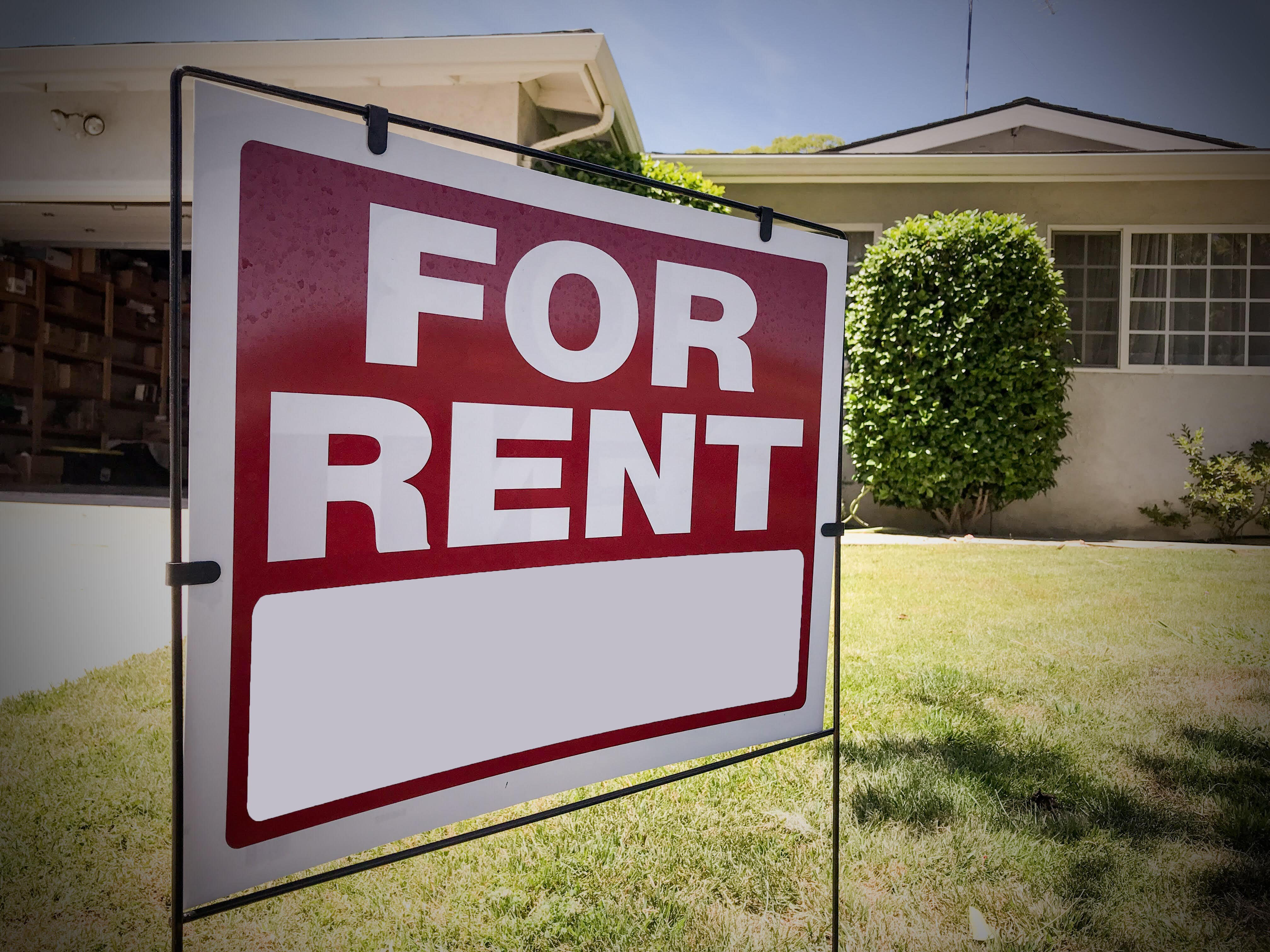 Cape Coral rental home clean out
