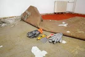 frayed carpet disposal